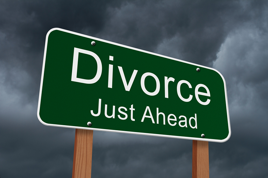 Signs ready for divorce